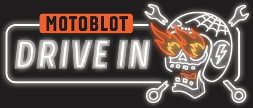 MOTOBLOT Drive=In Badge
